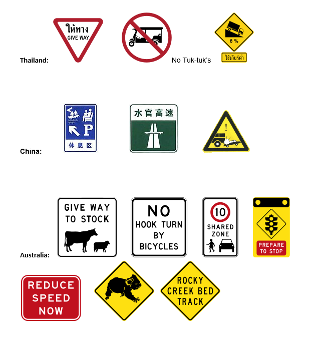 Road signs 2