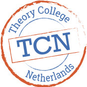 logo mobiel theory college netherlands wit